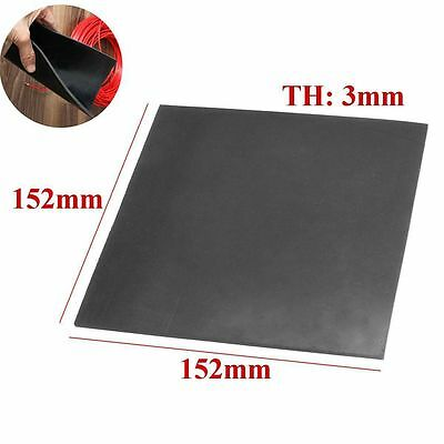 "Sheets 1/9"" Thickness Heat Resisting Square Rubber Sheet 152mm*152mm/6""x6"" Long"