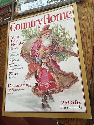 Lot Of 5 Country Home Magazines: 1993,1995, 1996, 1997.