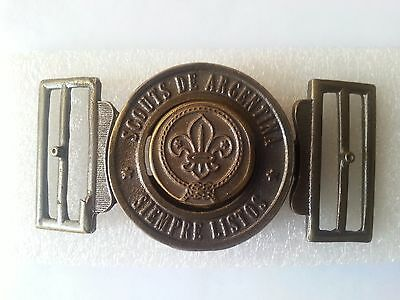 Buckle Boy Scouts of Argentina