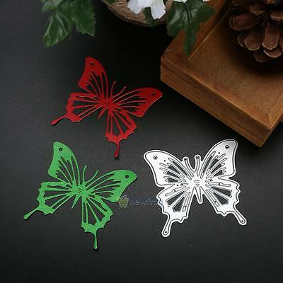Cutting Dies Butterfly Stencil DIY Scrapbooking Paper Album Card Decor Embossing