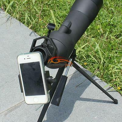 Universal Spotting Scope Astronomical Telescope Stand Mount f Mobile Cell Phone
