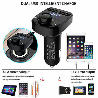 Bluetooth FM Transmitter 1.1 Inch Screen Car MP3 Player Low Consumption WD
