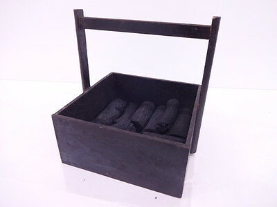 2978749: Japanese Tea Ceremony / Handled Charcoal Box