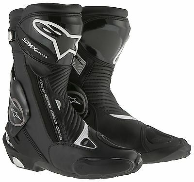 Alpinestars SMX Plus Black Motorcycle Boots Free Eu Delivery