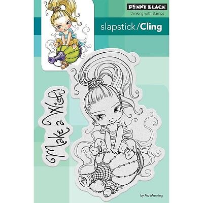 """Penny Black Cling Stamp 4""""X6"""" - Little Gini"""