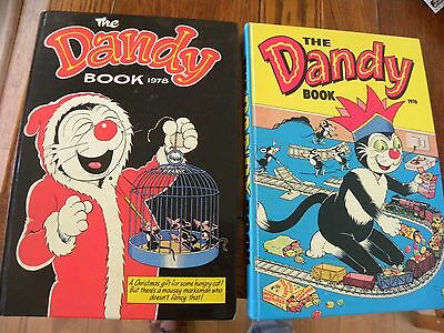 The Dandy Book 1976 & 1978 - Very Good Cond