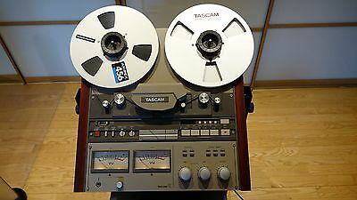 TASCAM  42 NB Reel to Reel recorder, cart stand, service manual
