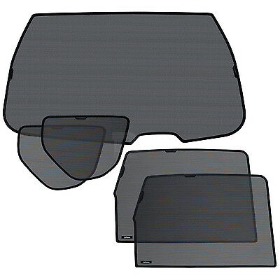 Laitovo Rear Window Shade Set for VW Touran Mk.2 15-17 Privacy Sun UV Protection