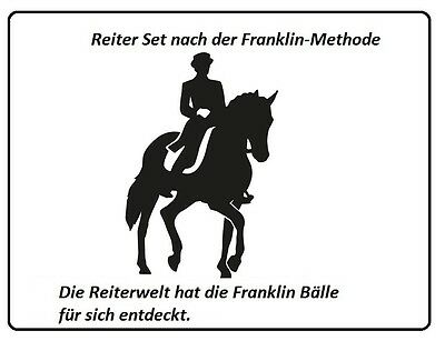 Reiter Set nach der Franklin-Methode - Bälle Set-   ** NEU**