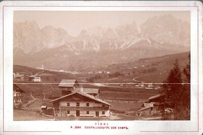 Tirol: N. 2684. Cristallogruppe vom Campo.