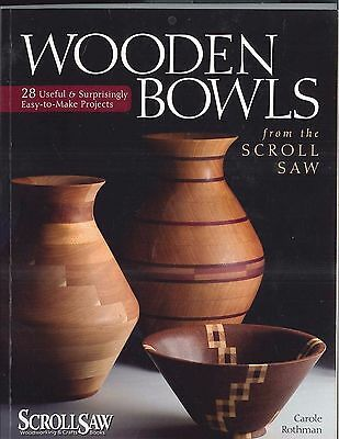 Wooden Bowls from the Scroll Saw Woodworking Craft art book