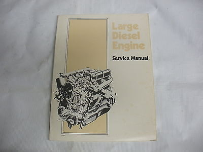 Large DIESEL Engine Repair Manual - New