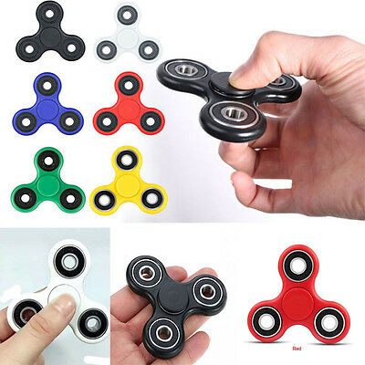 Fidget Finger Spinner Hand Focus Ultimate Spin Steel EDC Bearing Stress Toys