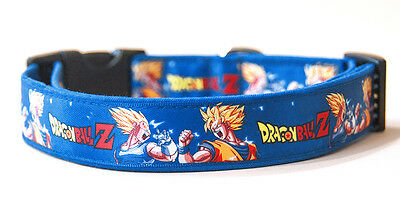 Dragon Ball Z Son Goku B Collar Perro Hecho A Mano HandMade Dog Collar