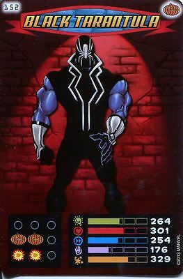 Spiderman Heroes And Villains Card #152 Black Tarantula