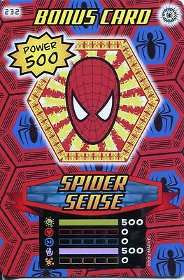 Spiderman Heroes And Villains Card #232 Spider Sense