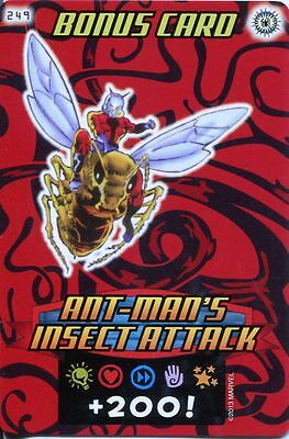 Spiderman Heroes And Villains Card #249 Ant Mans Insect Attack