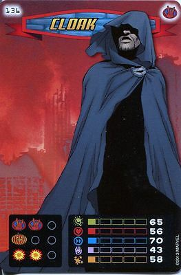 Spiderman Heroes And Villains Card #136 Cloak