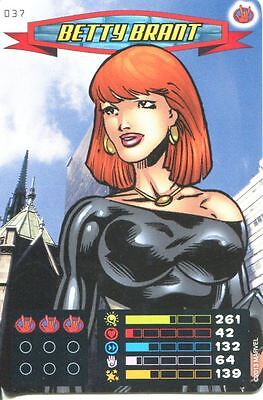Spiderman Heroes And Villains Card #037 Betty Bryant