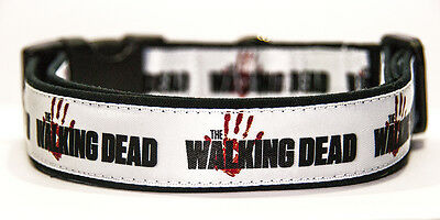 The Walking Dead A Collar Perro Hecho A Mano HandMade Dog Collar
