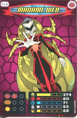 Spiderman Heroes And Villains Card #018 Madame Web