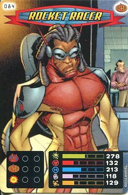 Spiderman Heroes And Villains Card #084 Rocket Racer