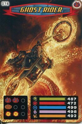 Spiderman Heroes And Villains Card #078 Ghost Rider