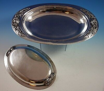 Mexican Mexico Sterling Silver Tureen Covered / Vegetable Dish (#1510)