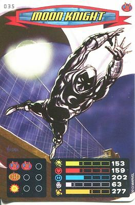Spiderman Heroes And Villains Card #035 Moon Knight