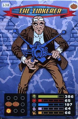 Spiderman Heroes And Villains Card #138 The Tinkerer