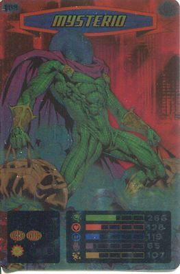 Spiderman Heroes And Villains Card #109 Mysterio Foil