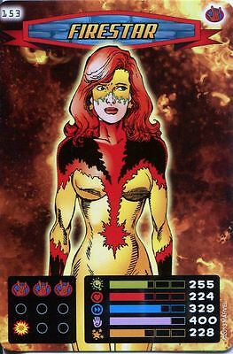 Spiderman Heroes And Villains Card #153 Firestar