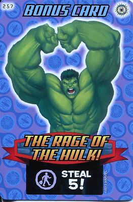 Spiderman Heroes And Villains Card #257 The Rage Of Hulk