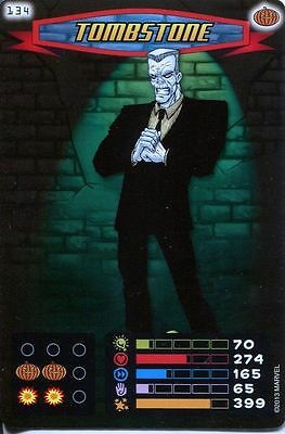 Spiderman Heroes And Villains Card #134 Tombstone