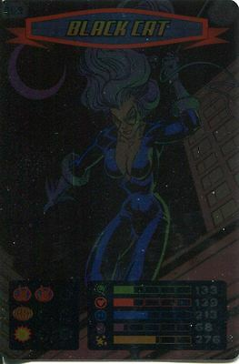 Spiderman Heroes And Villains Card #069 Black Cat Foil