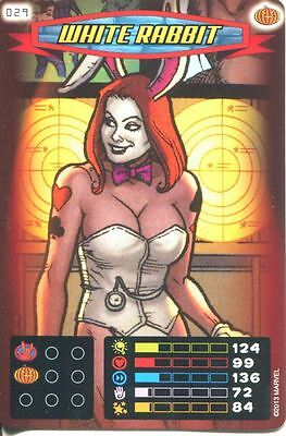Spiderman Heroes And Villains Card #029 White Rabbit