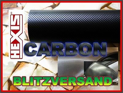Original Hexis Carbon / Schwarz matt Car Wraping Folie ! NEU !