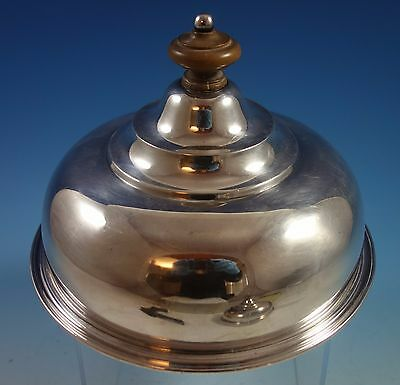 English Sterling Silver Quail / Cheese Dome (#1512)
