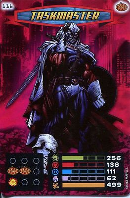 Spiderman Heroes And Villains Card #116 Taskmaster