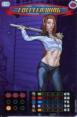 Spiderman Heroes And Villains Card #230 Colleen Wing