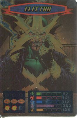 Spiderman Heroes And Villains Card #089 Electro Foil