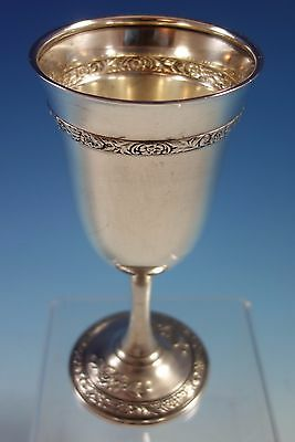 Meadow Rose by Wallace Sterling Silver Water Goblet #H220 (#1513)