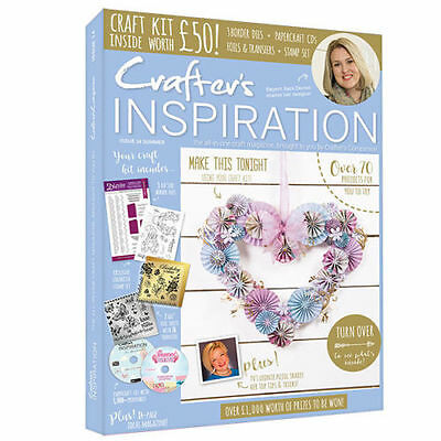 Crafters Companion - Crafters Inspiration Magazine - Issue 14 -With Free £50 Kit