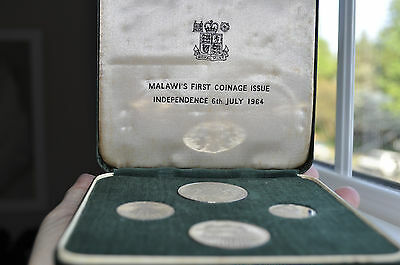 Malawi Proof coin set-- First Independent Coin Issue 1964!