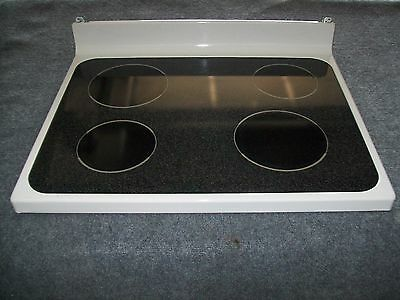 Wb62T10273 Ge Range Oven Main Top Glass Cooktop Bisque