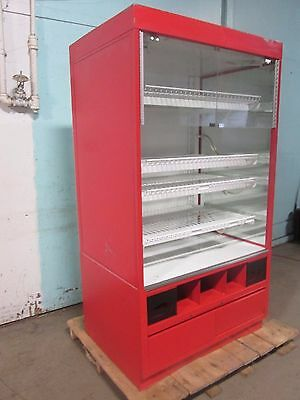 """federal"" Hd Commercial Vertical Self-Serve Lighted Bakery Dry Case Merchandiser"