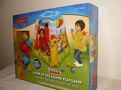 Disney Junior The Lion Guard Mark Of The Guard Playland With 50 Soft Flex Balls
