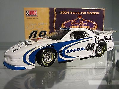 Jimmie Johnson #48 Crown Royal 2004 IROC Action 1/24 Scale Diecast