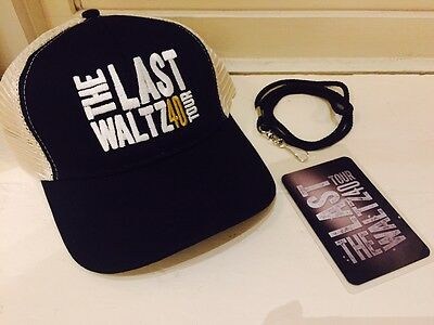 Warren Haynes The Last Waltz 40 Merchandise Merch Hat Lanyard VIP Package NEW