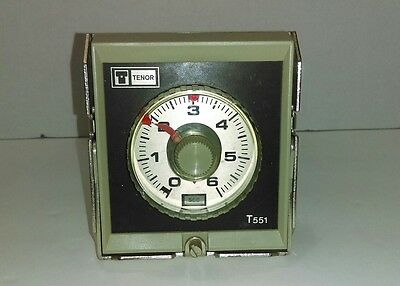 Tenor T551 Industrial Electronic Timer 500W 240VAC 6A UNTESTED